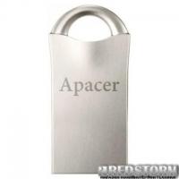 USB флеш накопитель Apacer 64GB AH117 Silver USB 2.0 (AP64GAH117S-1)