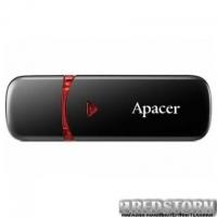USB флеш накопитель Apacer 64GB AH333 black USB 2.0 (AP64GAH333B-1)
