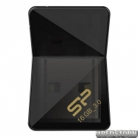 USB флеш накопитель Silicon Power 16Gb Jewel J08 Black USB 3.0 (SP016GBUF3J08V1K)
