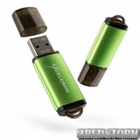 USB флеш накопитель eXceleram 16GB A3 Series Green USB 2.0 (EXA3U2GR16)