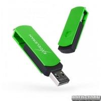USB флеш накопитель 32Gb Exceleram P2 Series (EXP2U2GRB32) Green/Black