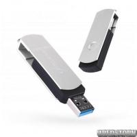 USB флеш накопитель 16Gb Exceleram P2 Series (EXP2U3SIB16) Silver/Black