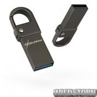 USB флеш накопитель eXceleram 16GB U6M Series Dark USB 3.1 Gen 1 (EXU3U6MD16)