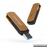 USB флеш накопитель 32Gb Exceleram P2 Series (EXP2U3BRB32) Brown/Black