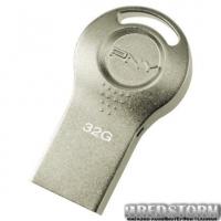 PNY Attache i Durable Metal 32GB Silver (FDI32GATTI-EF)