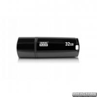 Флеш-накопитель USB3.0 32GB GOODRAM UMM3 (Mimic) Black (UMM3-0320K0R11)