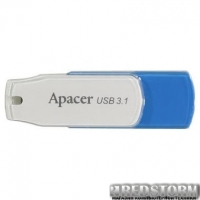 USB флеш накопитель Apacer 64GB AH357 Blue USB 3.1 (AP64GAH357U-1)