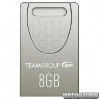 Флеш накопитель Team 8GB C156 Silver (TC1568GS01)