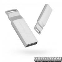 USB флеш накопитель eXceleram 16GB U2 Series Silver USB 2.0 (EXP2U2U2S16)