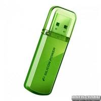 USB флеш накопитель 16Gb Silicon Power Helios 101 (SP016GBUF2101V1N) Green