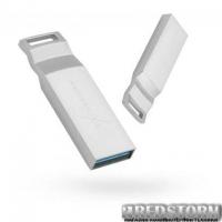 USB флеш накопитель eXceleram 16GB U2 Series Silver USB 3.1 Gen 1 (EXP2U3U2S16)