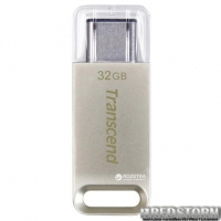 Transcend JetFlash 850 32GB USB 3.0 Type-C Silver (TS32GJF850S)