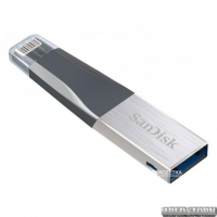 Sandisk iXpand Mini 128 Gb, USB 3.0/Lightning for Apple (SDIX40N-128G-GN6NE)