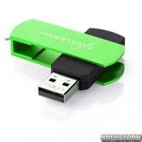 USB флеш накопитель 64Gb Exceleram P2 Series (EXP2U2GRB64) Green/Black