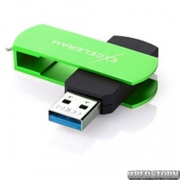 USB флеш накопитель 32Gb Exceleram P2 Series (EXP2U3GRB32) Green/Black