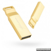 USB флеш накопитель 32Gb Exceleram U2 Series (EXP2U2U2G32) Gold