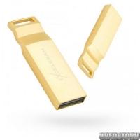 USB флеш накопитель 32Gb Exceleram U2 Series (EXP2U3U2G32) Gold