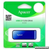 Флешка Apacer Handy Steno AH334 16GB Blue (AP16GAH334U-1) U0113436