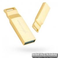 USB флеш накопитель eXceleram 128GB U2 SeriesGold USB 3.1 Gen 1 (EXP2U3U2G128)