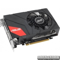 Asus PCI-Ex GeForce GTX 960 2GB GDDR5 (128bit) (1190/7010) (DVI, HDMI, 3 x DisplayPort) (GTX960-MOC-2GD5)