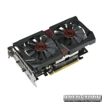 Asus PCI-Ex GeForce GTX 750 Ti Strix 2048MB GDDR5 (128bit) (1020/5400) (DVI, HDMI, DisplayPort) (STRIX-GTX750TI-2GD5)
