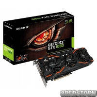 Gigabyte PCI-Ex GeForce GTX 1080 G1 Gaming 8192MB GDDR5X (256bit) (1695/10010) (DVI, HDMI, 3 x Display Port) (GV-N1080G1 GAMING-8GD)
