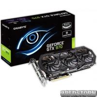 Gigabyte PCI-Ex GeForce GTX 970 OC 4096MB GDDR5 (256bit) (1114/7010) (2 x DVI, HDMI, 3 x DisplayPort) (GV-N970WF3OC-4GD)