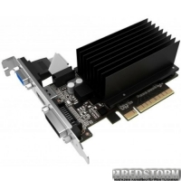 Gainward PCI-Ex GeForce GT 710 SilentFX 1024MB DDR3 (64bit) (954/1600) (VGA, DVI, HDMI) (4260183363583)