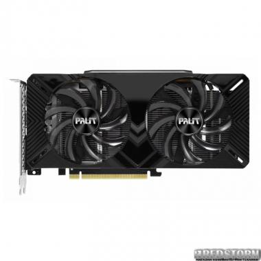 Видеокарта Palit PCI-Ex GeForce RTX 2060 Dual 6GB GDDR6 (192bit) (1365/14000) (DVI, HDMI, DisplayPort) (NE62060018J9-1160A)
