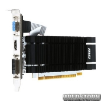 MSI PCI-Ex GeForce GT 730 2048MB DDR3 (64bit) (902/1600) (VGA, DVI, HDMI) (N730K-2GD3H/LP)