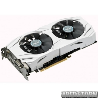 Asus PCI-Ex GeForce GTX 1060 Dual 6GB GDDR5 (192bit) (1569/8008) (DVI, 2 x HDMI, 2 x DisplayPort) (DUAL-GTX1060-O6G)