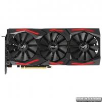 Asus PCI-Ex GeForce RTX 2060 Super ROG Strix A8G Gaming Advanced Edition 8GB GDDR6 (256bit) (1470/14000) (2 x DisplayPort, 2 x HDMI, 1 x USB Type-C) (ROG-STRIX-RTX2060S-A8G-GAMING)