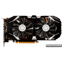 MSI PCI-Ex GeForce GTX 1060 OC 3GB GDDR5 (192bit) (1544/8008) (DVI, HDMI, DisplayPort) (GTX 1060 3GT OC)
