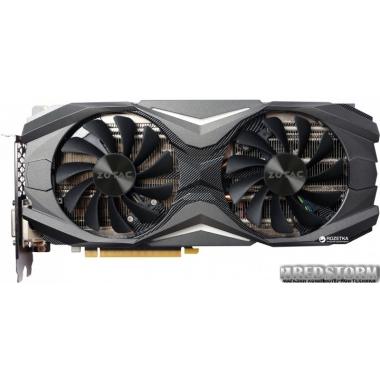 Видеокарта Zotac PCI-Ex GeForce GTX 1080 8GB GDDR5 (256bit) (1607/10000) (DVI, HDMI, 3 x DisplayPort) (ZT-P10800E-10S)