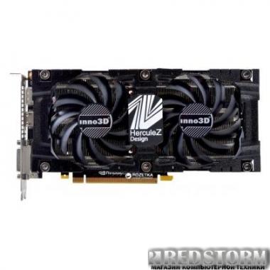 Видеокарта INNO3D PCI-Ex GeForce GTX 1070 Ti Twin X2 8GB GDDR5 (256bit) (1607/8000) (DVI, HDMI, 3 x DisplayPort) (N107T-1SDN-P5DN)