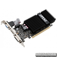 MSI PCI-Ex GeForce GT 720 2048MB GDDR3 (64bit) (797/1800) (VGA, DVI, HDMI) (N720-2GD3HLP)