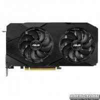 Asus PCI-Ex GeForce GTX 1660 Ti Dual Advanced Edition 6GB GDDR6 (192bit) (1500/12002) (1 x DisplayPort, 2 x HDMI, 1 х DVI-D) (DUAL-GTX1660TI-A6G-EVO)