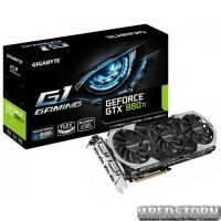 Gigabyte PCI-Ex GeForce GTX 980 Ti 6144MB GDDR5 (384bit) (1190/7010) (2 х DVI, HDMI, 3 x DisplayPort) (GV-N98TG1 GAMING-6GD)