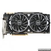 MSI PCI-Ex GeForce GTX 1080 Ti Armor OC 11GB GDDR5X (352bit) (1531/11016) (DVI, 2 x HDMI, 2 x DisplayPort) (GTX 1080 TI ARMOR 11G OC)