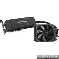 Gigabyte PCI-Ex GeForce GTX 980 WaterForce 4096MB GDDR5 (256bit) (1228/7012) (2 x DVI, HDMI, 3 x DisplayPort) (GV-N980WAOC-4GD)