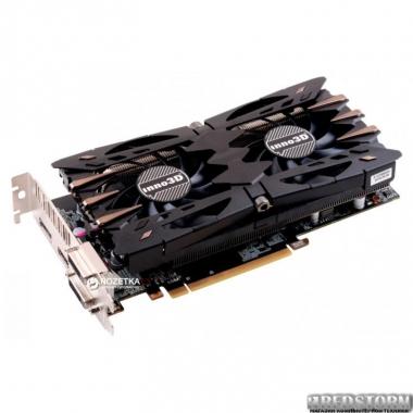 Видеокарта Inno3D PCI-Ex GeForce GTX 1060 TWIN X2 6GB GDDR5 (192bit) (1506/8000) (DVI, HDMI, 3 x DisplayPort) (N106F-2SDN-N5GS)