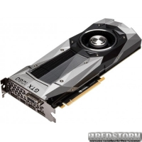 Asus PCI-Ex GeForce GTX 1070 Founders Edition 8GB GDDR5 (256bit) (1506/8000) (DVI, HDMI, 3 x DisplayPort) (GTX1070-8G)