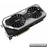 Palit PCI-Ex GeForce GTX 1080 Super JetStream 8GB GDDR5X (256bit) (1708/10000) (DVI, HDMI, 3 x DisplayPort) (NEB1080S15P2-1040J)