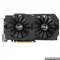 Asus PCI-Ex GeForce GTX 1050 Ti ROG Strix OC 4GB GDDR5 (128bit) (1379/7008) (2 x DVI, HDMI, DisplayPort) (STRIX-GTX1050TI-O4G-GAMING)