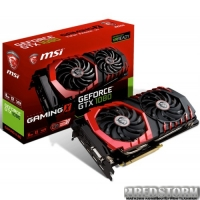 MSI PCI-Ex GeForce GTX 1080 Gaming X 8GB GDDR5X (256bit) (1683/10108) (DVI, HDMI, 3 x DisplayPort) (GTX 1080 GAMING X 8G)