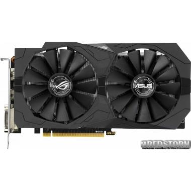 Видеокарта Asus PCI-Ex GeForce GTX 1050 Ti ROG Strix 4GB GDDR5 (128bit) (1290/7008) (2 x DVI, HDMI, DisplayPort) (STRIX-GTX1050TI-4G-GAMING)