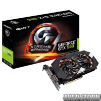Gigabyte PCI-Ex GeForce GTX 960 4096MB GDDR5 (128bit) (1279/7010) (DVI, HDMI, 3 x Display Port) (GV-N960XTREME-4GD)