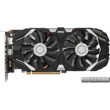 Видеокарта MSI PCI-Ex GeForce GTX 1060 OC 6GB GDDR5 (192bit) (1544/8008) (DVI, HDMI, DisplayPort) (GTX 1060 6GT OCV1)