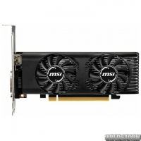 MSI PCI-Ex GeForce GTX 1650 Low Profile OC 4GB GDDR5 (128bit) (1695/8000) (DVI, HDMI) (GTX 1650 4GT LP OC)