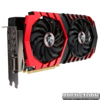 MSI PCI-Ex Radeon RX 480 Gaming 8GB GDDR5 (256bit) (1279/8000) (DVI, 2 x HDMI, 2 x DisplayPort) (RX 480 GAMING 8G)